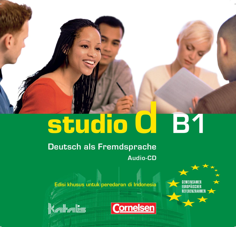 studio d B1, Audio-CD für den Kursraum
