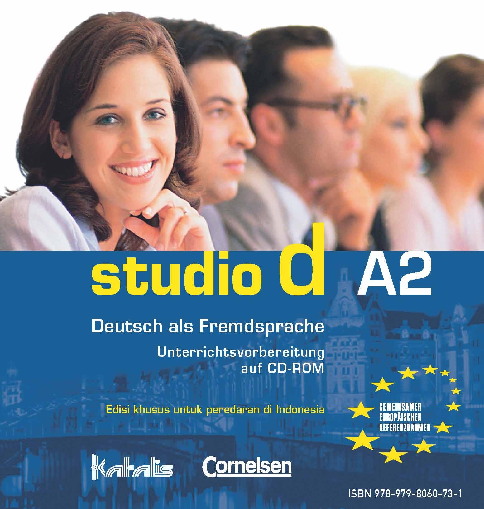 studio d A2, Unterrichtsvorbereitung auf CD-ROM