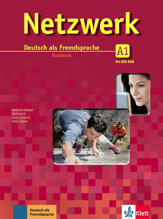 Netzwerk A1, Paket buku (Kursbuch mit DVD-ROM dan Arbeitsbuch mit MP3-Audiodateien)