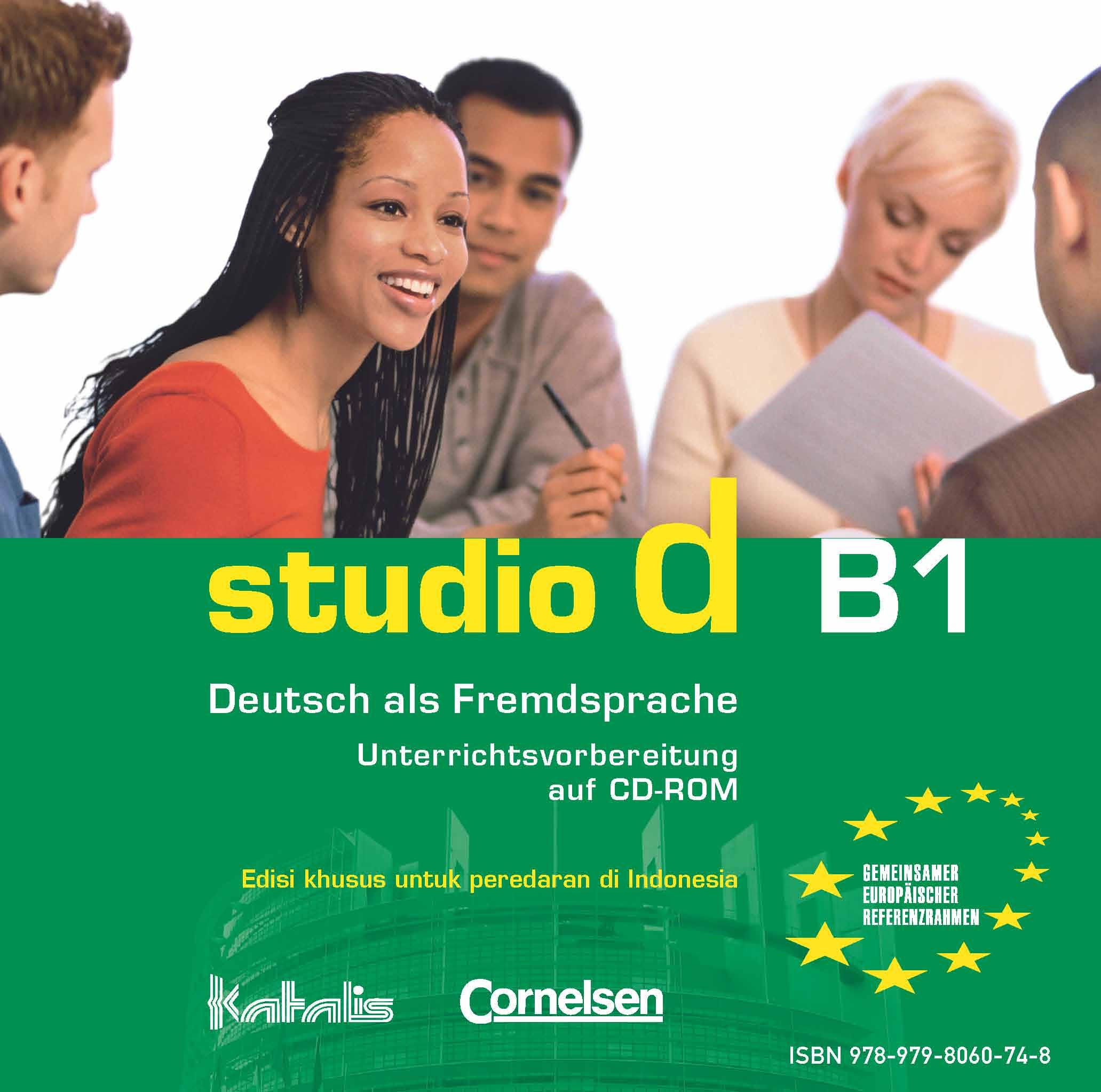 studio d B1, Unterrichtsvorbereitung auf CD-ROM