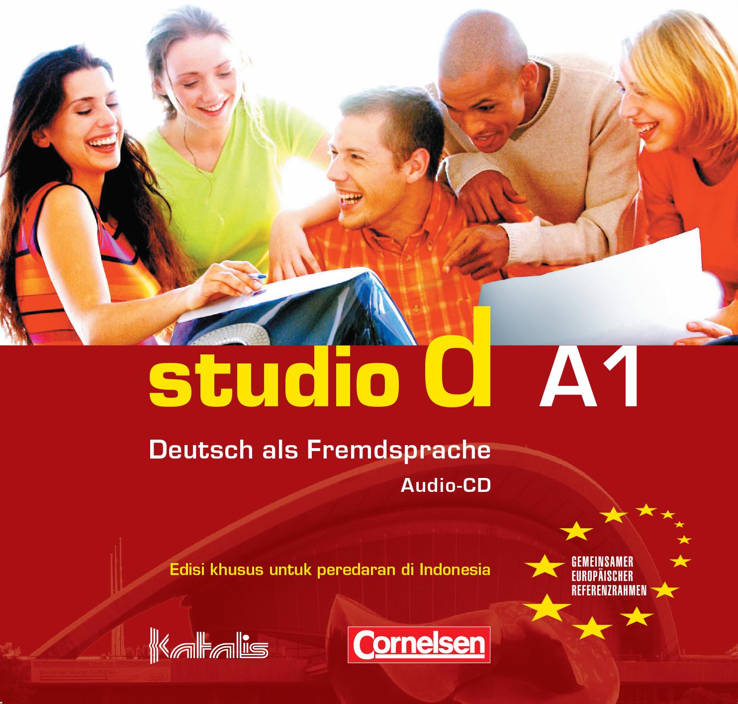 studio d A1, Audio-CD für den Kursraum