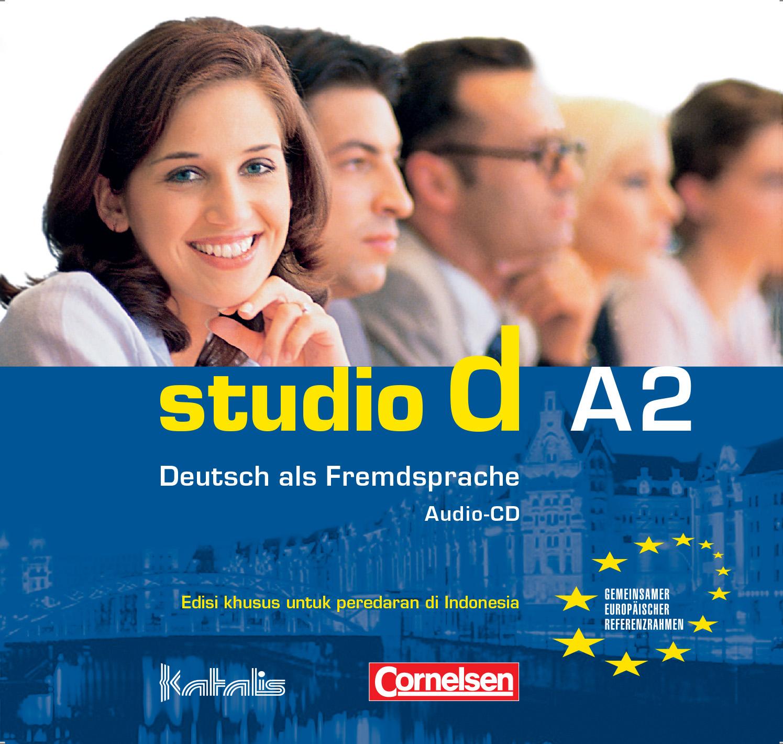 studio d A2, Audio-CD für den Kursraum