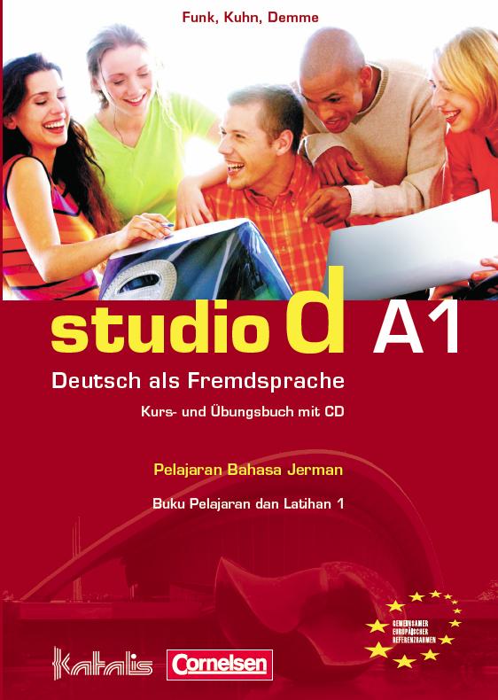 studio d A1, Paket buku(Kurs- und Übungsbuch mit CD + Lösungen dan Sprachtraining)